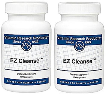 Vitamin Research Products EZ Cleanse - 100 Capsules