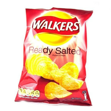 Walkers Crisps Ready Salted x 48 1656g