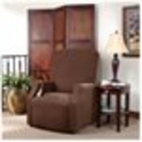 Sure Fit Stretch Pique Large Recliner Slipcover
