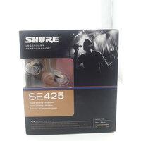 Headphone Shure SE425 Sound Isolating In-ear Metallic silver