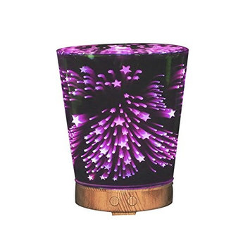 MYY Aroma Diffuser Essential Oil Diffusers Aromatherapy Humidifier 7 Color LED Lights For Office Home Bedroom Living Room Study Yoga Spa