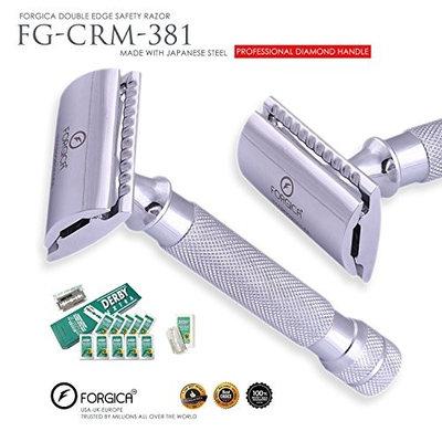 Safety Razor Double Edge Forgica Professional Derby 50 Double Edge Blades