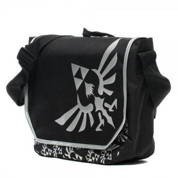 Cyberteez Legend Of Zelda Tri-Force Logo Nintendo Messenger Bag