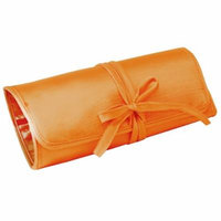 Ivy Lane Design Gift, Jewelry Roll, Orange