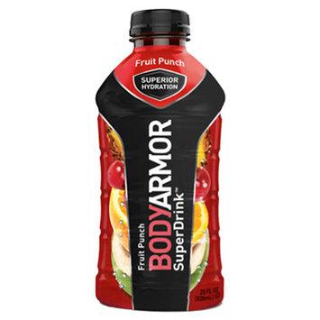 Body Armor Fruit Punch Sports Drink 28 oz Plastic Bottles - Pack of 12