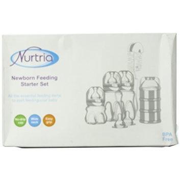Nurtria Newborn Feeding Starter Set, BPA Free, White (Discontinued by Manufacturer)