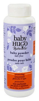 Hugo Naturals - Baby Hugo Baby Powder Talc-Free Unscented - 3 oz.(pack of2)