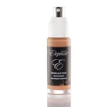 Zermat Eleganzza Liquid Mattifying Foundation Makeup, Maquilla Liquido Facial Matificante (Bronze)