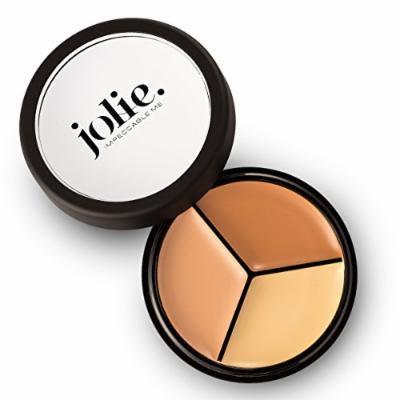Jolie Pro Palette Correct & Conceal Concealer ~ Medium Neutral, Light Amber, Deep Sand