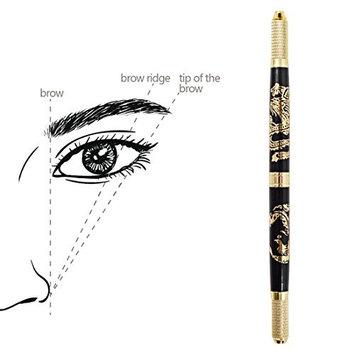 Permanent Makeup Microblading Supply Disposable Tattoo Manual Pen Needle Lock for Mist Shape Eyebrow Cross Shaped Needele Lock(20pcs blades)