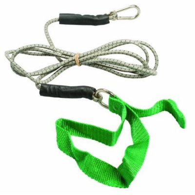 Fabrication Cando 7' Green Exercise Bungee Cord - Medium
