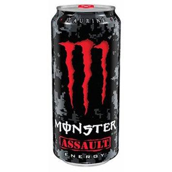 Monster Energy, Assault, 16 Ounce (Pack of 24)