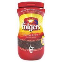 FOL06922 Folgers Instant Coffee Crystals, Classic Roast, 16Oz Jar