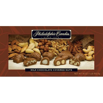 Philadelphia Candies Milk Chocolate Covered Nuts Gift Box