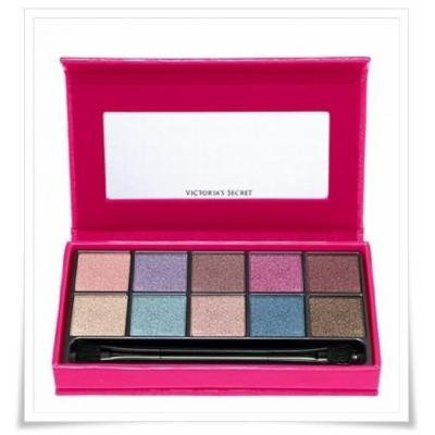 Victoria's Secret Spring Shimmer Eyeshadow Kit And Dual End Applicator
