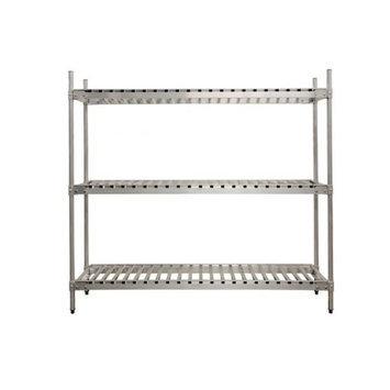 Prairie View Industries Aluminum Beer Keg Storage Rack - 3 Shelf Unit: 18 Keg Shelf