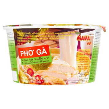 President Rice Products Public Company Limited Mama, Noodle Rice Chicken Pho Ga, 2.29 Oz (Pack Of 6)