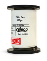 Eisco Labs Chromium Resistance Wire, 90ft Reel, 20 Gauge SWG - 19 AWG - 0.036