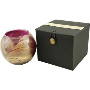 AMETHYST CANDLE GLOBE by AMETHYST CANDL THE INSIDE OF THIS 4 inch POLI