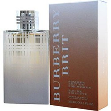 BURBERRY BRIT SUMMER by Burberry Perfume for Women (EDT SPRAY 3.4 OZ (EDITION 2012))