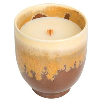 Ceramic Candle Coconut Saffron 10oz - Nature's Wick®