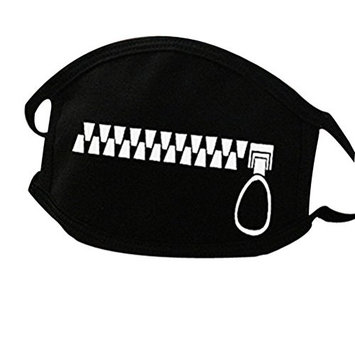 Unisex All Members Fashion Black Earloop Mask Anti-dust Cotton Face Mouth Mask Muffle