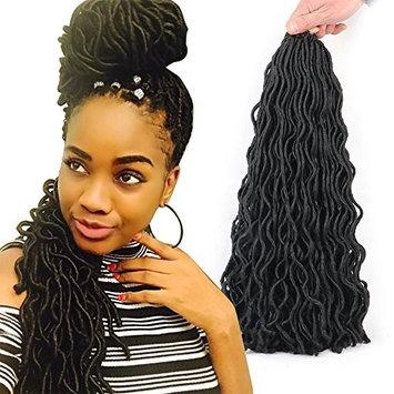 Wavy Faux Locs Crochet Braids Hair 20