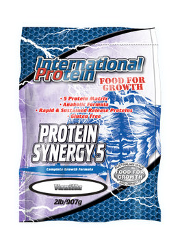 International Protein Protein Synergy 5 Powder, Vanilla, 2 Lb