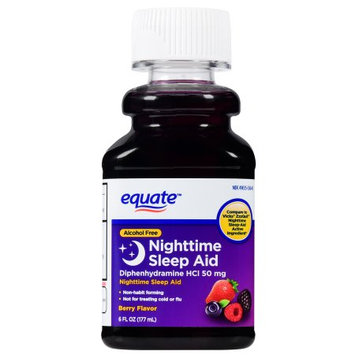Wal-mart Stores, Inc. Equate Liquid Sleep Aid, 6 fl oz