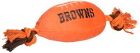 DoggieNation Cleveland Browns Plush Dog Toy 0.5 lb