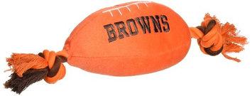 DoggieNation Cleveland Browns Plush Dog Toy 0.5 lb