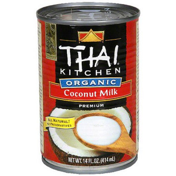Thai Kitchen Organic Coconut Milk, 13.66 oz (Pack of 12)