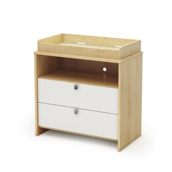 South Shore Cookie Collection Changing Table, Champagne and White