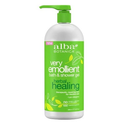 Alba Very Emollient Herbal Healing Bath & Shower Gel - 32oz