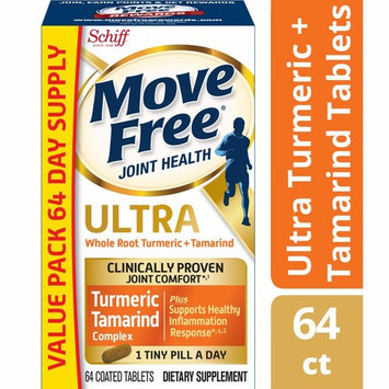 Move Free Turmeric & Tamarind Ultra Joint Health Supplement, (60 + 4 Free) Count Tablets