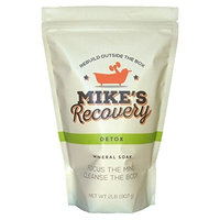 Mike's Recovery DETOX POUCH Mineral Soak- Bath Salt Muscle Restore - Mikes Recovery