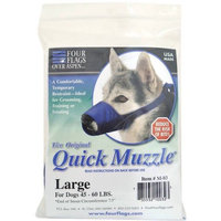 Nylon Quick Muzzle for Dogs Large