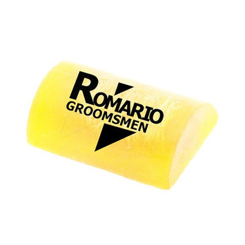 Romario Groomsmen - - Lemonglass WILD HONEY Aroma Hand Made Luffa Soap to clean dirt from body (Bar Soap with Natural Loofah Sponge Scrubber) 100g Brightening & Soft Skin