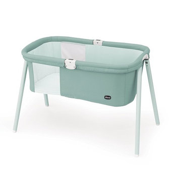 Chicco LullaGo Portable Bassinet, Grey Mist