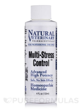 Natural Veterinary Pharmaceuticals Multi-Stress Control 4 oz