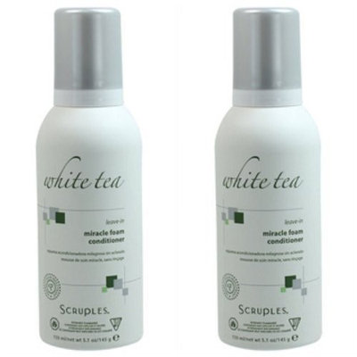 Scruples White Tea Leave in Miracle Foam 5 Ounce - (Set of 2)