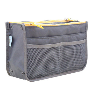 Outgeek Unisex Toiletry Bag Makeup Bag Shower Bag with Zipper Multifunctional Cosmetic Storage Bag Organizer Container for Women Men Travel Business Trip Hotel Dormitory Home