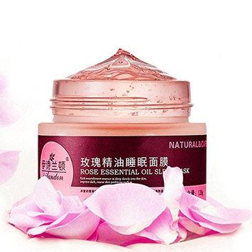 Rose Facial Sleep Mask Moisturizing Skin Care Night Mask