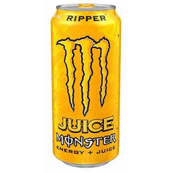 Juice Monster Energy, Ripper, 16 Ounce (Pack of 24)