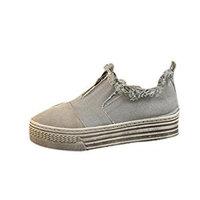 Bescita Women Comfortable Canvas Flat Stylish Slip On Loafers Flats Shoes