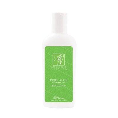 Absolutely Natural Pure Aloe Recovery Gel - With Tea Tree Oil