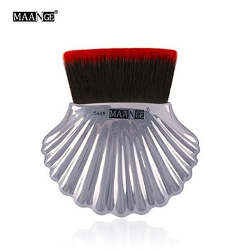 RNTOP Foundation Powder Makeup Brushes Shell Contour Powder Blush Brush Tools