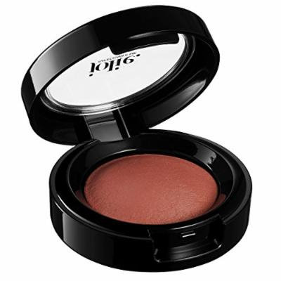 Jolie Radiant Marbleized Baked Blush Blusher Cheek Color - Silky Smooth - Rose Gold