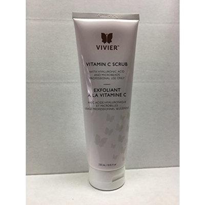 VivierSkin Vitamin C Scrub with Hyaluronic Acid, 8.45 Fluid Ounce