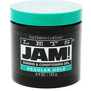 Let's Jam! Shining & Conditioning Gel Regular Hold 4.40 oz by Lets Jam